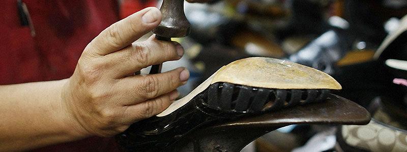 Где выполнить ремонт обуви