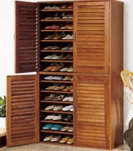 Полка для обуви в виде шкафа