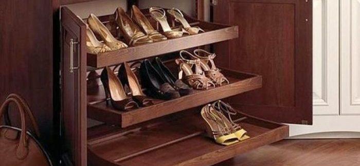 Как хранить обувь - правильные советы и методы хранения обуви