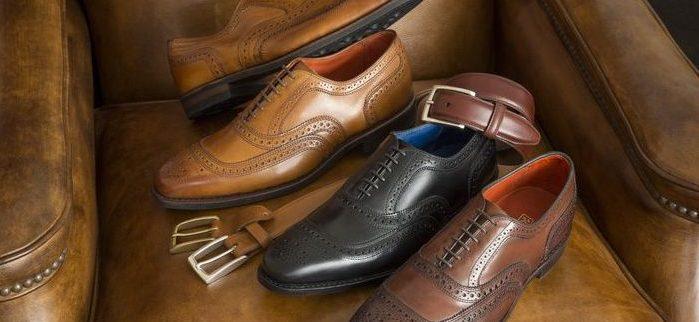 Ремень к обуви - как правильно подобрать ?