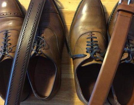 Как подобрать ремень под обувь
